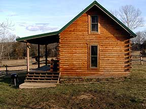 Log Cabin in Missouri.